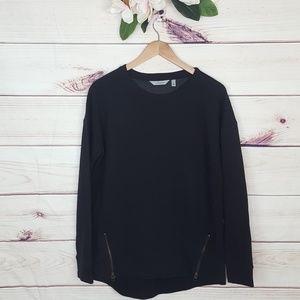 Athleta | City Scape Black Sweatshirt